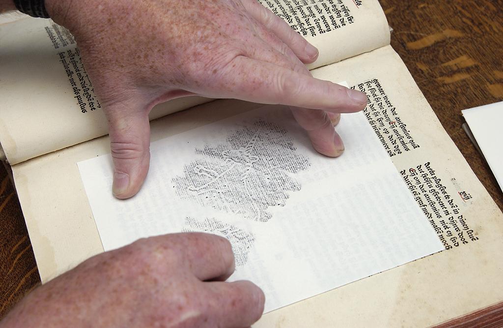 digital watermarking paper